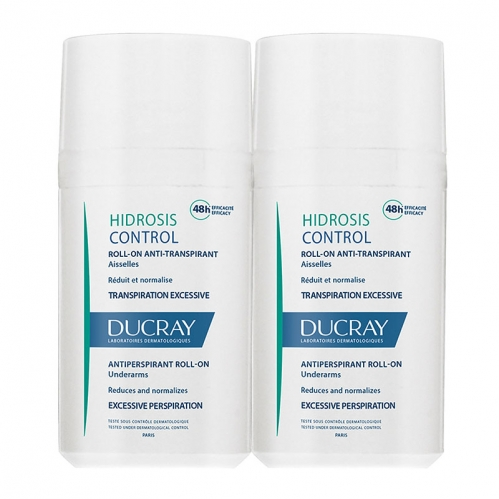 Ducray - Ducray Hidrosis Control Anti Transpirant Roll On 2x40 ml