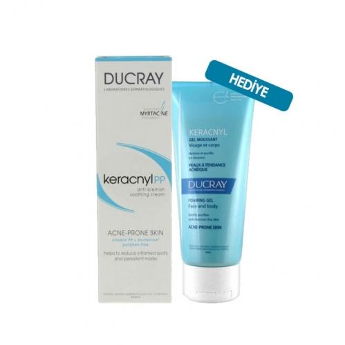 Ducray Ürünleri - Ducray Keracnyl Control Krem 30 ml | Keracnyl Jel 100 ml HEDİYELİ