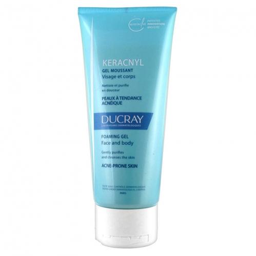 Ducray Ürünleri - Ducray Keracnyl Foaming Gel 100ml - Seyahat Boy