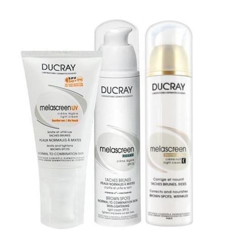 Ducray Ürünleri - Ducray Lekeye Eğilimli Ciltler için ve Yaşlanma Karşıtı Bakım Seti