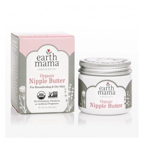 Earth Mama Angel Baby Organics - Earth Mama Nipple Angel Baby Göğüs Ucu Bakım Kremi 60 ml