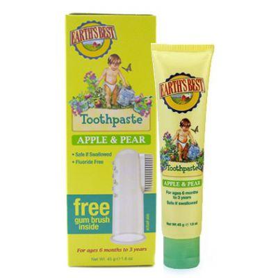 Earths Best Apple & Pear Diş Macunu 45g (Kampanya Ürünü)