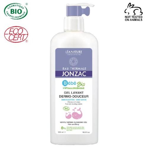 Eau Thermale Jonzac - Eau thermale jonzac Organik Sertifikalı Bebek Saç ve Vücut Dermo Yıkama Jeli 500 ml