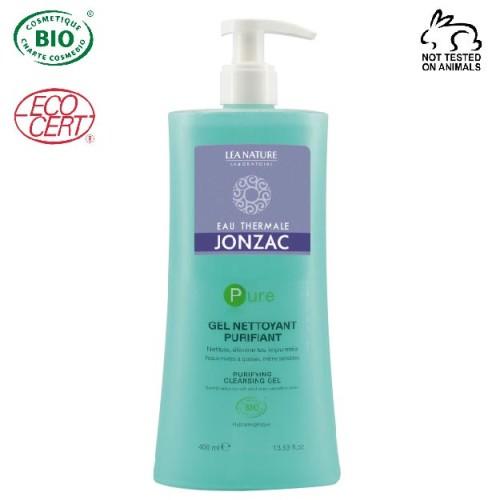 Eau Thermale Jonzac - Eau thermale jonzac Pure Organik Sertifikalı Hipoalerjenik Yüz Yıkama Jeli 400 ml