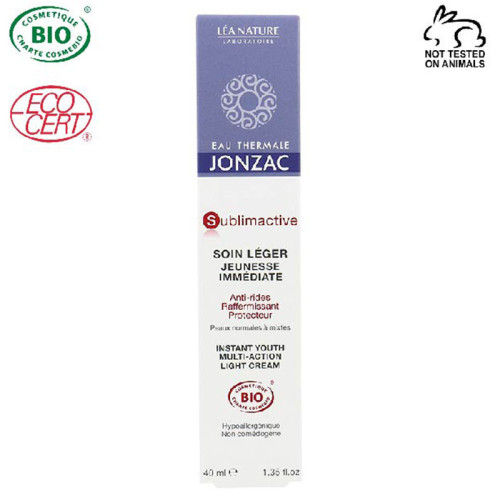 Eau Thermale Jonzac - Eau Thermale Jonzac Sublimactive Organik Sertifikalı Hipoalerjenik Anti Aging Hafif Krem 40ML