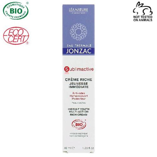 Eau Thermale Jonzac - Eau Thermale Jonzac Sublimactive Organik Sertifikalı Hipoalerjenik Anti Aging Yoğun Krem 40ML