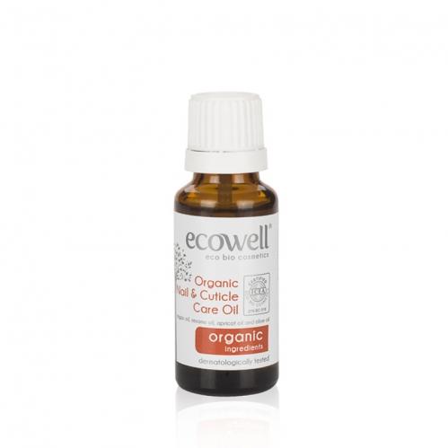Ecowell - Ecowell Organik Tırnak ve Tırnak Eti Bakım Yağı 20 ML