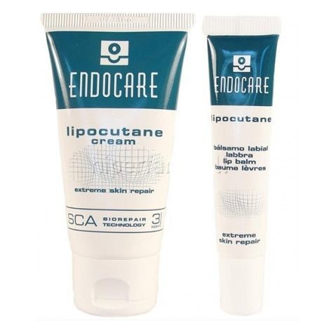 Endocare Ürünleri - Endocare Lipocutane Duo Cream 50ml + Lip Balm 10ml