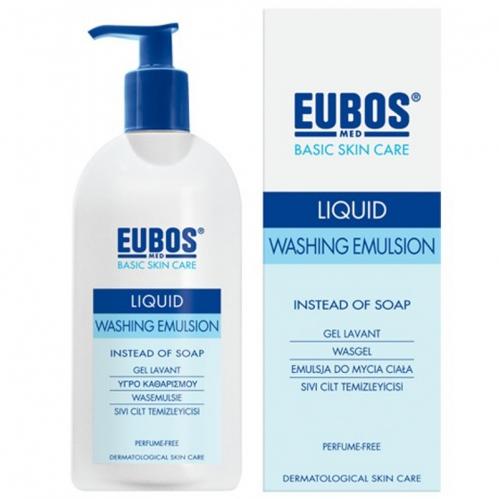 Eubos - Eubos Parfümsüz Sıvı Cilt Temizleyicisi 400 ML