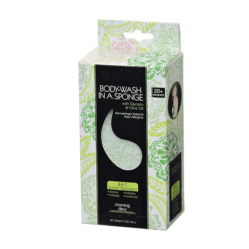 Evri - Evri Body Wash İn A Sponge Morning Dew 85 GR