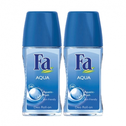 Fa - FA Roll-On 2'li Aqua 50 ml+50 ml