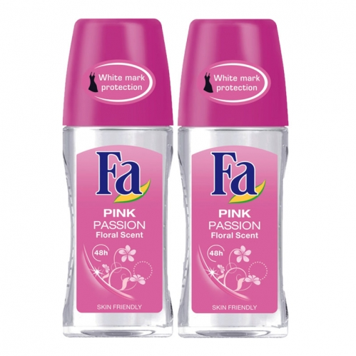 Fa - FA Roll-On 2'li Pink Passion Kadın 50 ml+50 ml