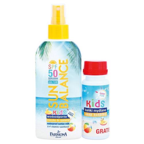 Farmona - Farmona Sun Blance Spf50 Kids Güneş Koruma Sütü 200ml + HEDİYE Soap Bubble