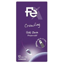 FE Ürünleri - FE Prezervatif Crowling 12li Kutu