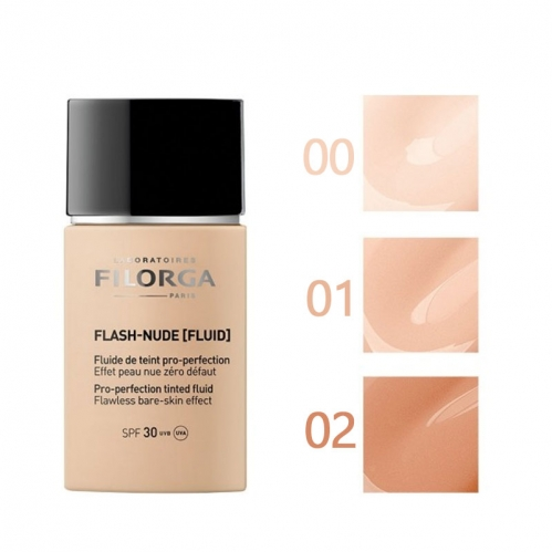 Filorga Flash Nude Fluid SPF30 Pro Perfection Foundation 30 ml - Thumbnail