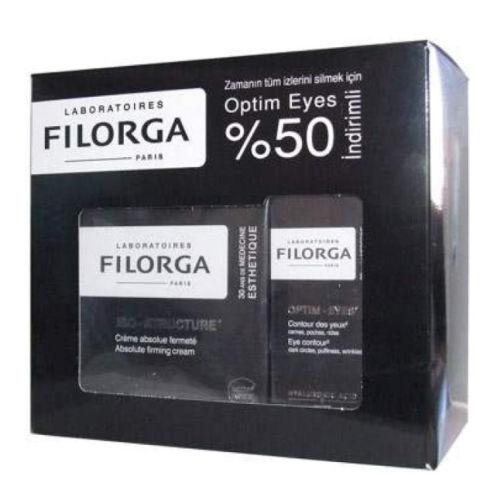 Filorga İso-Structure 50ml + Optim Eyes 15ml