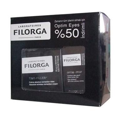 Filorga Time Filler(kırışıklık belirtilerine karşı bakım kremi) 50 ml, Optim-Eyes (Göz Çevresi Kremi) 15 ml