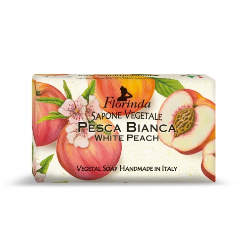 Florinda Ürünleri - Florinda Beyaz Şeftali Katı Sabun 100 GR