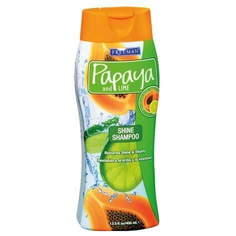 Freeman Ürünleri - Freeman Papaya and Lime Shine Shampoo 400ml