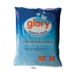 GLORY - Glory Cleaning Without Bath 20Adet (Hijyenik Temizlik Lifi)