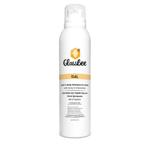 GlossBee - GlossBee Çocuklar için Köpük Saç ve Vücut Şampuanı 200ml