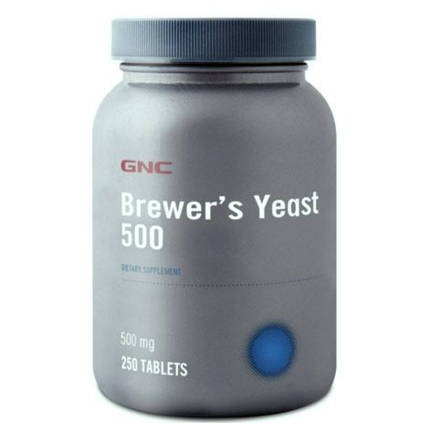 GNC - Gnc Brewer s Yeast 500mg 250Tablet