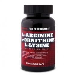 GNC - GNC L-Arginine & L-Ornithine & L-lysine 90 Kapsül