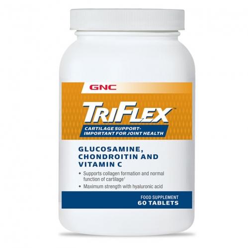 GNC - GNC Triflex Glucosamine-Chondroitin-Vitamin C Takviye Edici Gıda 60 Kapsül
