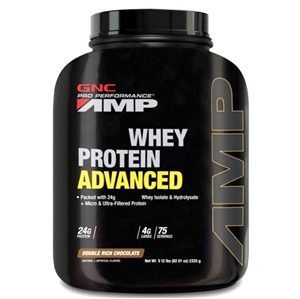Gnc Whey Protein Advanced Double Rich Chocolate 2325gr