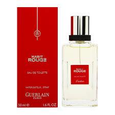Guerlain Ürünleri - Guerlain Habıt Rouge Edt Erkek Parfüm 50 ml