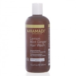 Hamadi Saç Bakım - Hamadi Lemon Mint Ginger Hair Wash 355 ml