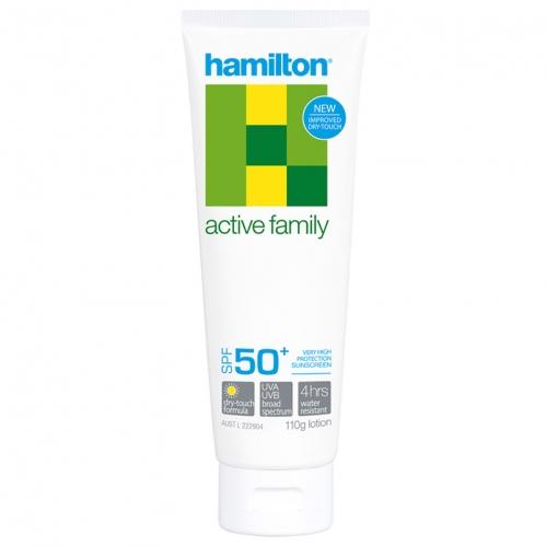 Hamilton Güneş Ürünleri - Hamilton Active Family Lotion Spf50+ 110gr