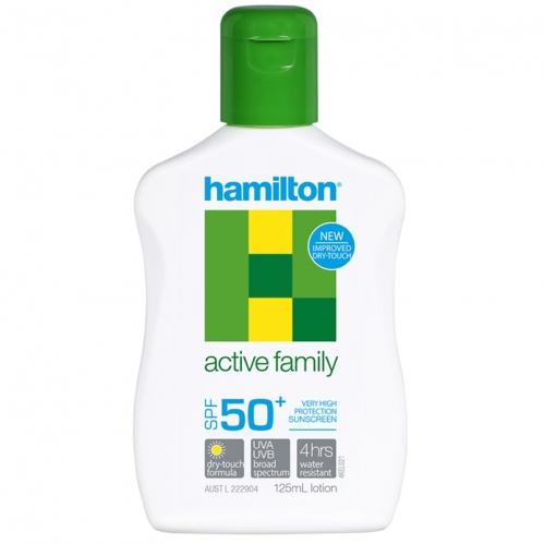 Hamilton Güneş Ürünleri - Hamilton Active Family SPF50+ Losyon 125ml