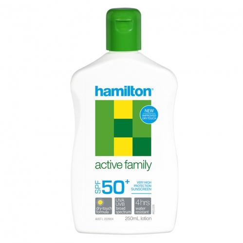 Hamilton Güneş Ürünleri - Hamilton Active Family SPF50+ Losyon 250ml