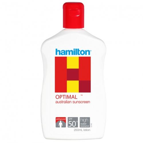 Hamilton Güneş Ürünleri - Hamilton Optimal Güneş Koruyucu Spf50+ Losyon 250ml