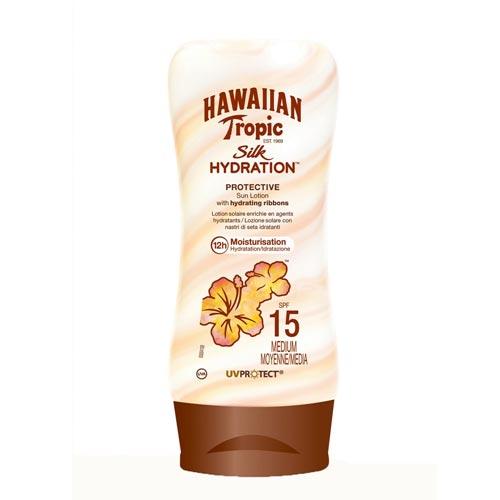 Hawaiian Tropic - Hawaiian Tropic Lotion Silk Hydration Spf15 180ml