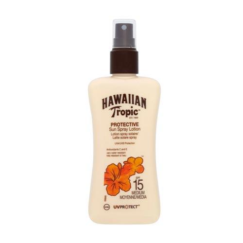 Hawaiian Tropic - Hawaiian Tropic Protective Sun Spray Lotion Spf15 200ml