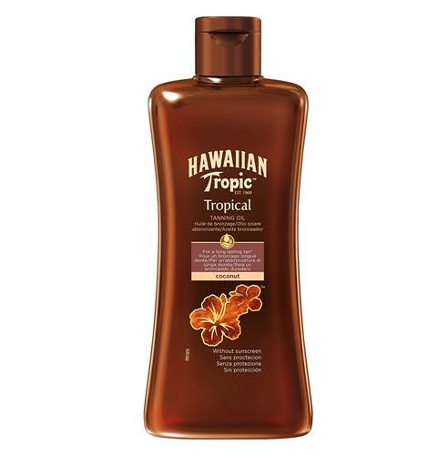 Hawaiian Tropic - Hawaiian Tropic Coconut Koruma Faktörsüz Güneş Yağı 200ml
