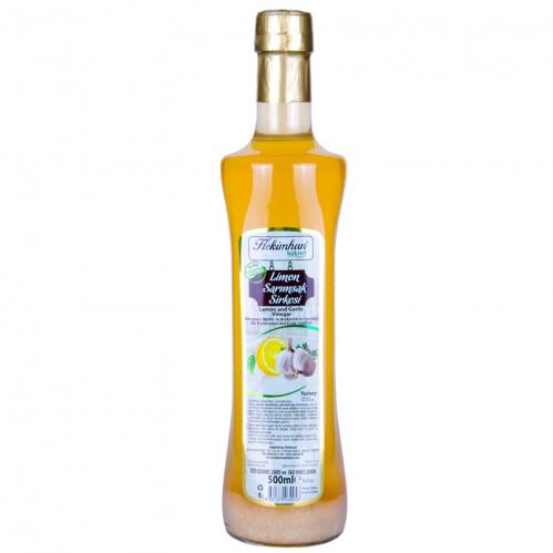 Hekimhan Bitkisel - Hekimhan Sarımsaklı Limon Sirkesi 500 ml