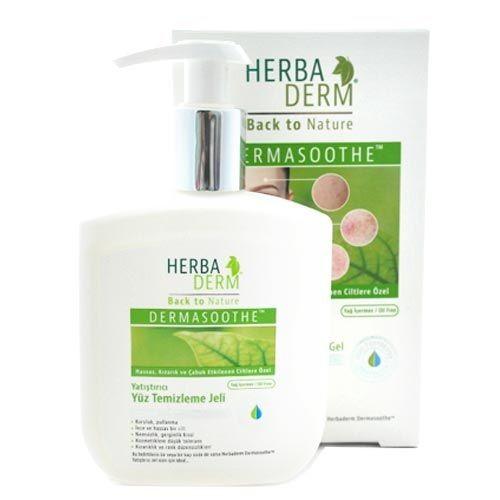 Herbaderm - Herbaderm Soothing Facial Cleansing Gel 250ml