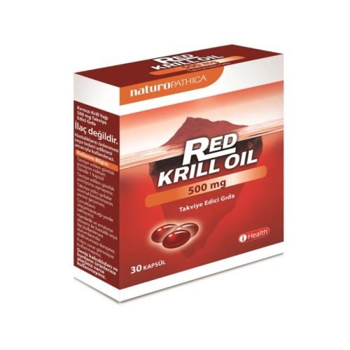 iHealt - iHealth Red Krill Oil 500mg 30 Kapsül