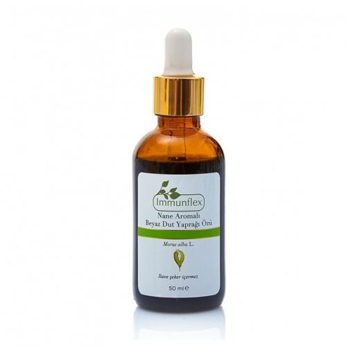 Immunflex - Immunflex Nane Aromalı Dut Yaprağı Özü 50 ml