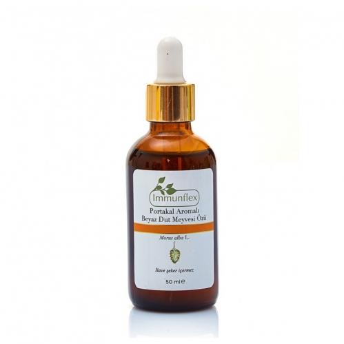 Immunflex - Immunflex Portakal Aromalı Beyaz Dut Meyvesi Özü 50 ml