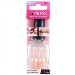 imPress - imPress B Way On Fire Short 24 Nails