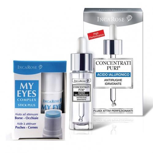 Incarose - Incarose Hyaluronic Acid 15ml + My Eyes Complex Stick Plus 5ml Kofre