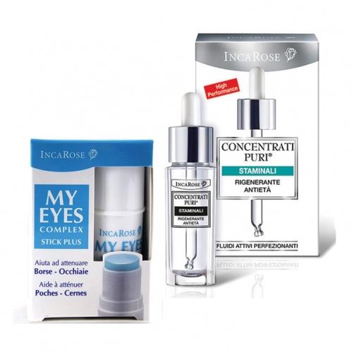 Incarose - Incarose Plant Stem Cells 15ml + My Eyes Complex Stick Plus 5ml Kofre