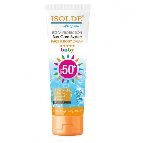 Zigavus Ürünleri - Isolde Baby Güneş Koruyucu Krem Spf50+ 100ml
