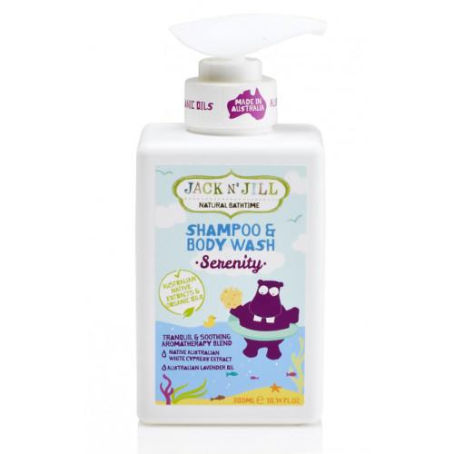 Jack And Jill Kids - Jack and Jill Natural Bathtime Shampoo & Body Wash 300ml