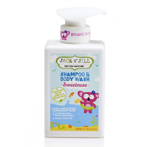 Jack And Jill Kids - Jack and Jill Natural Bathtime Shampoo & Body Wash 300ml