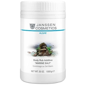 Janssen Cosmetics Algae Body Rub Additive Marine Salt 1000gr